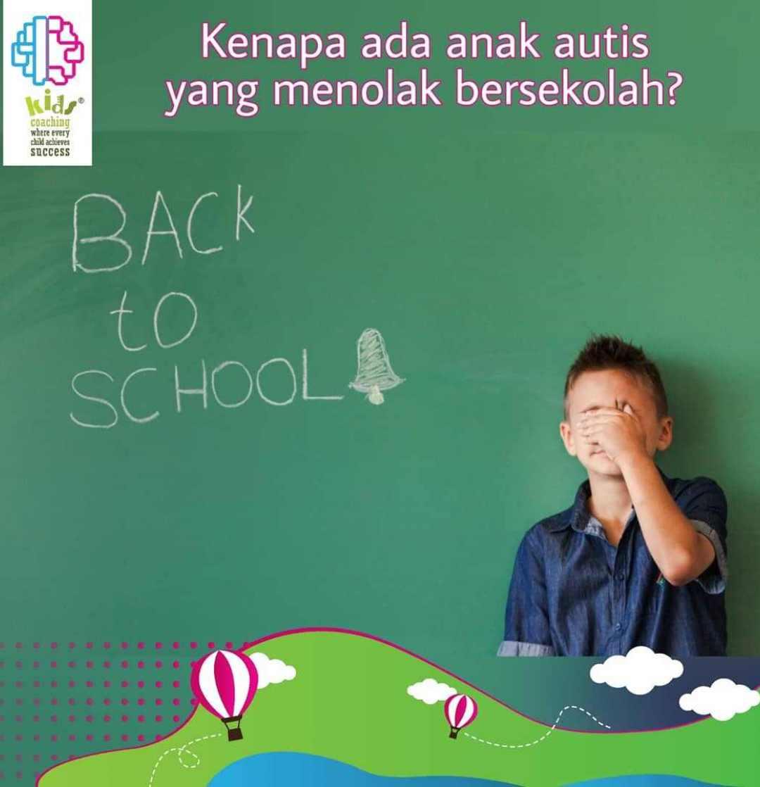 Mengapa Anak Menolak ke Sekolah?
